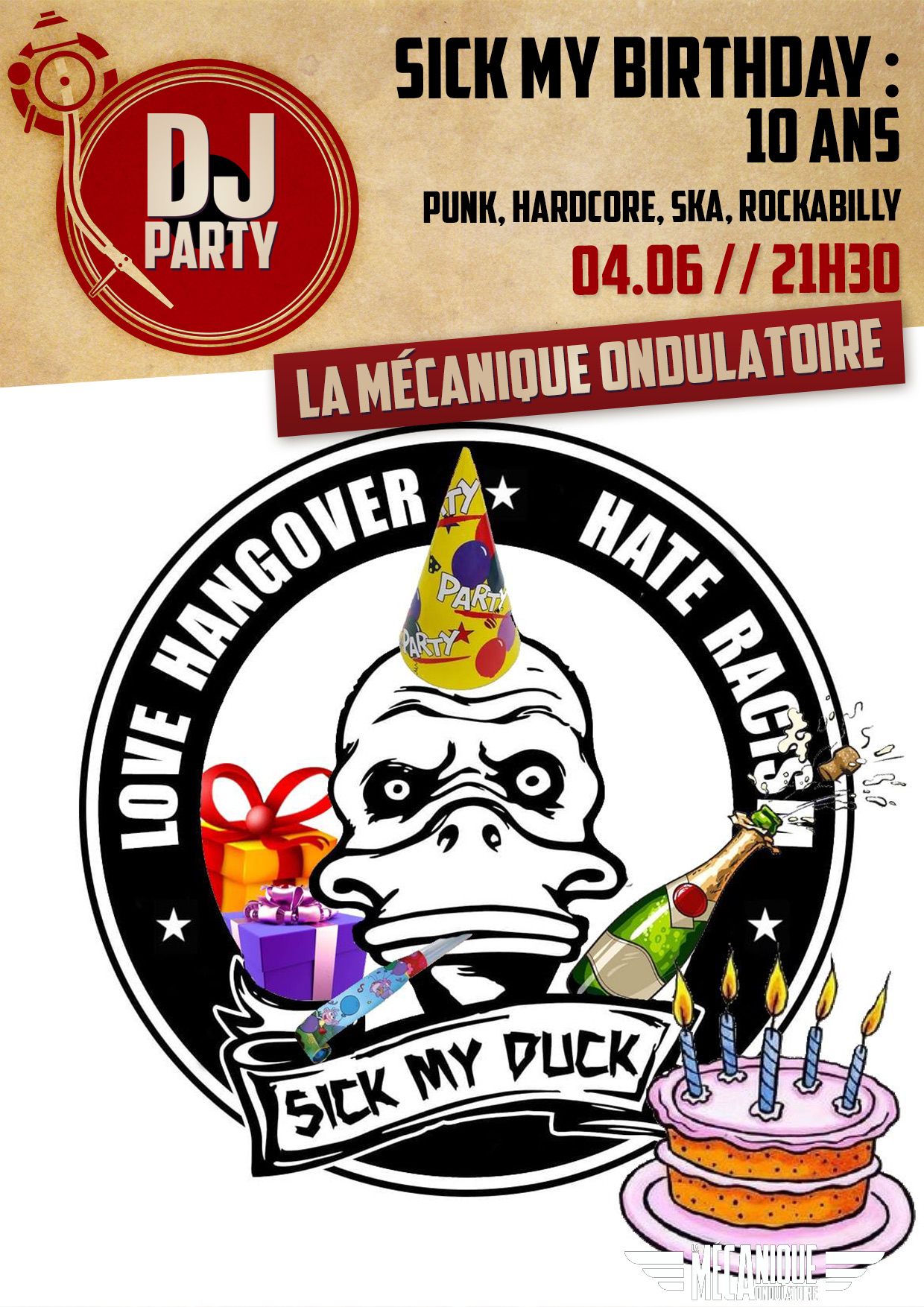 Sick My Birthday : 10 ans ! // 04.06