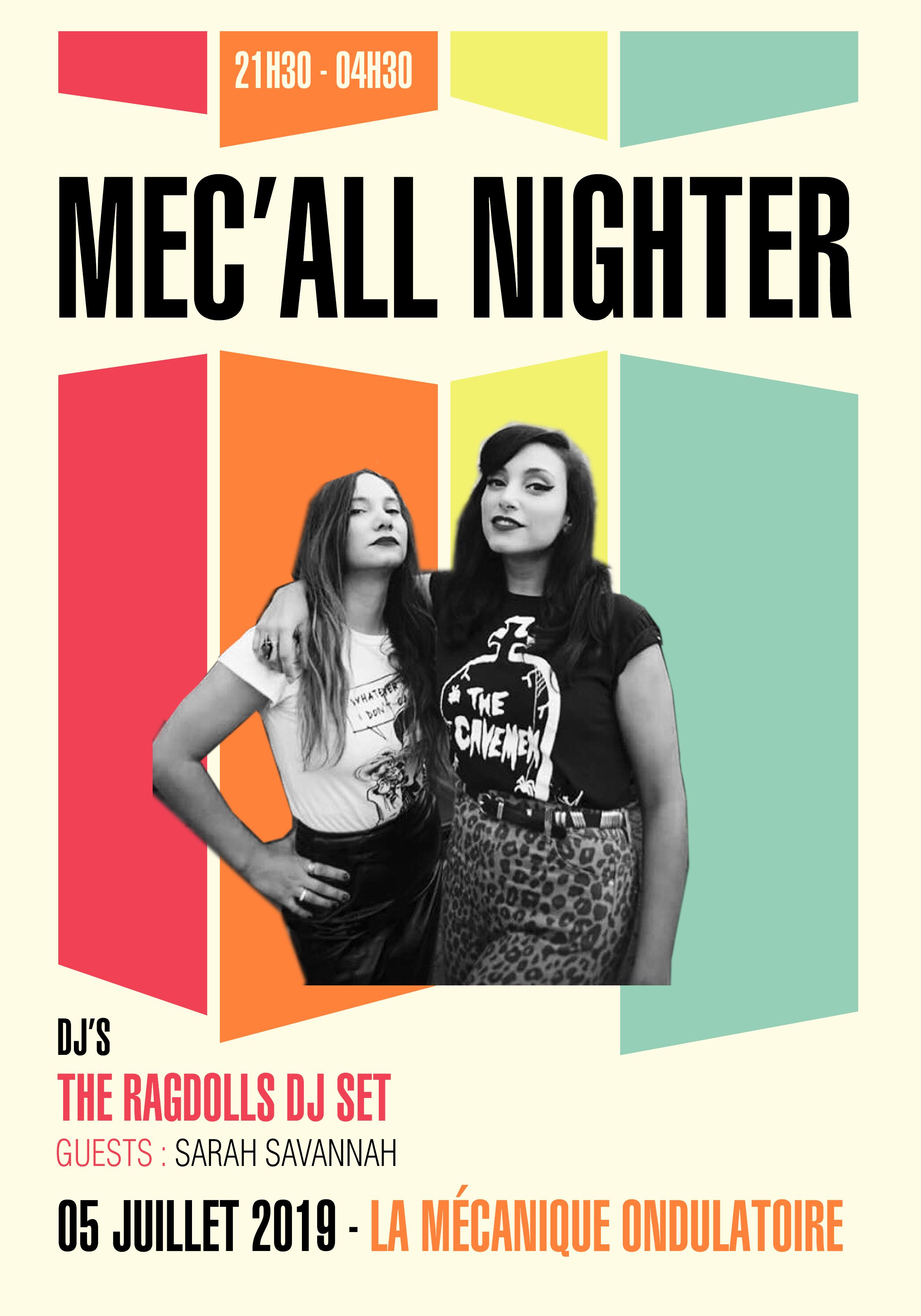 Méc'all nighter // 05.07