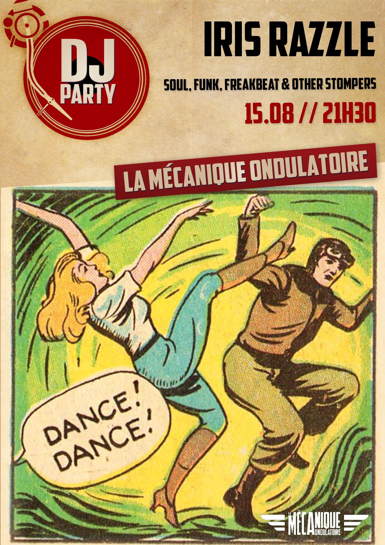 Iris Razzle DJ set - 15.08 - La Méca