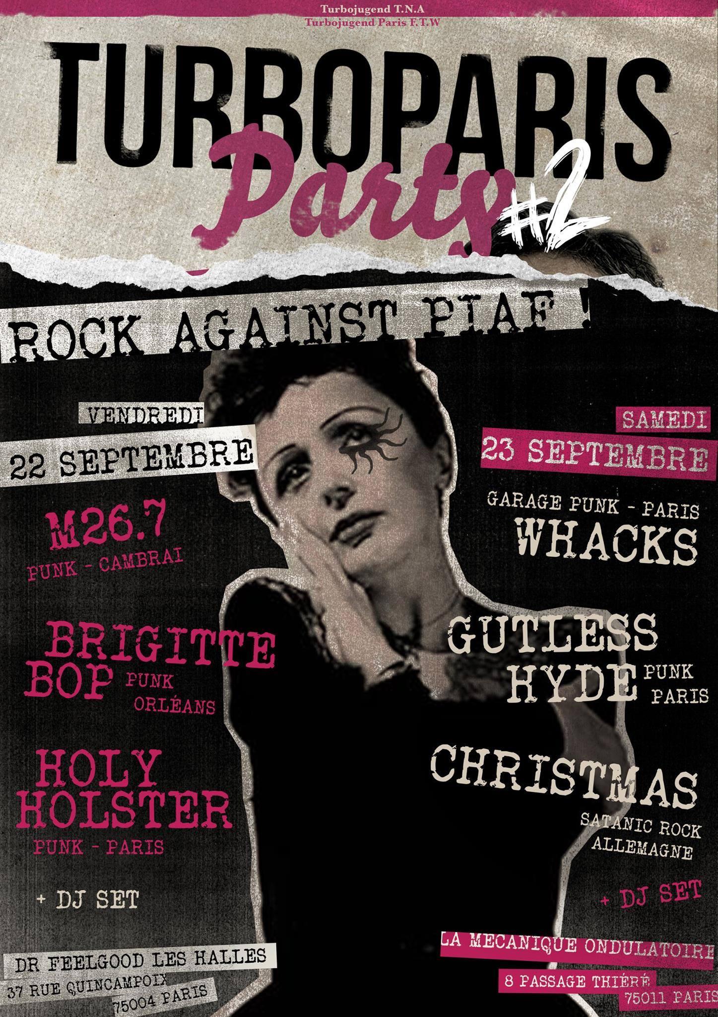 TURBO PARIS PARTY // 23.09