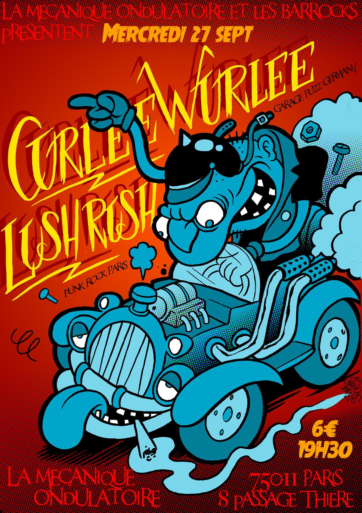 CURLEE WURLEE + LUSH RUSH // 27.09