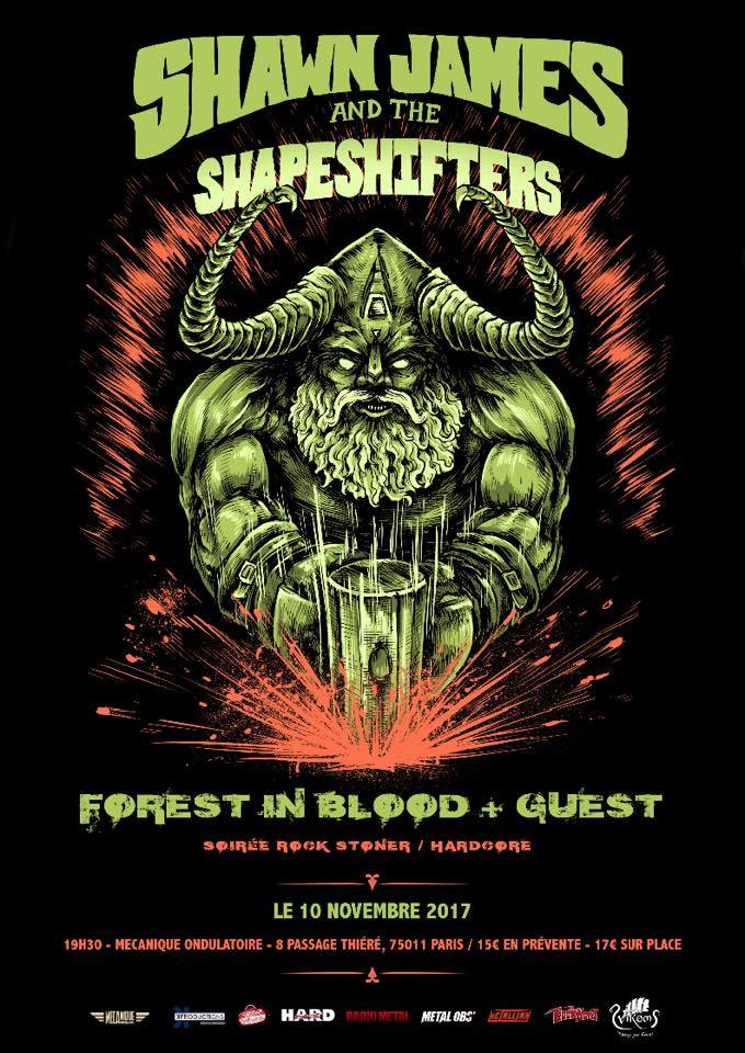SHAWN JAMES AND THER SHAPESHIFTERS // 10.11