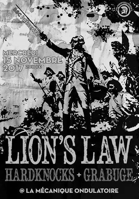 LION'S LAW + HARDKNOCKS + GRABUGE // 15.11