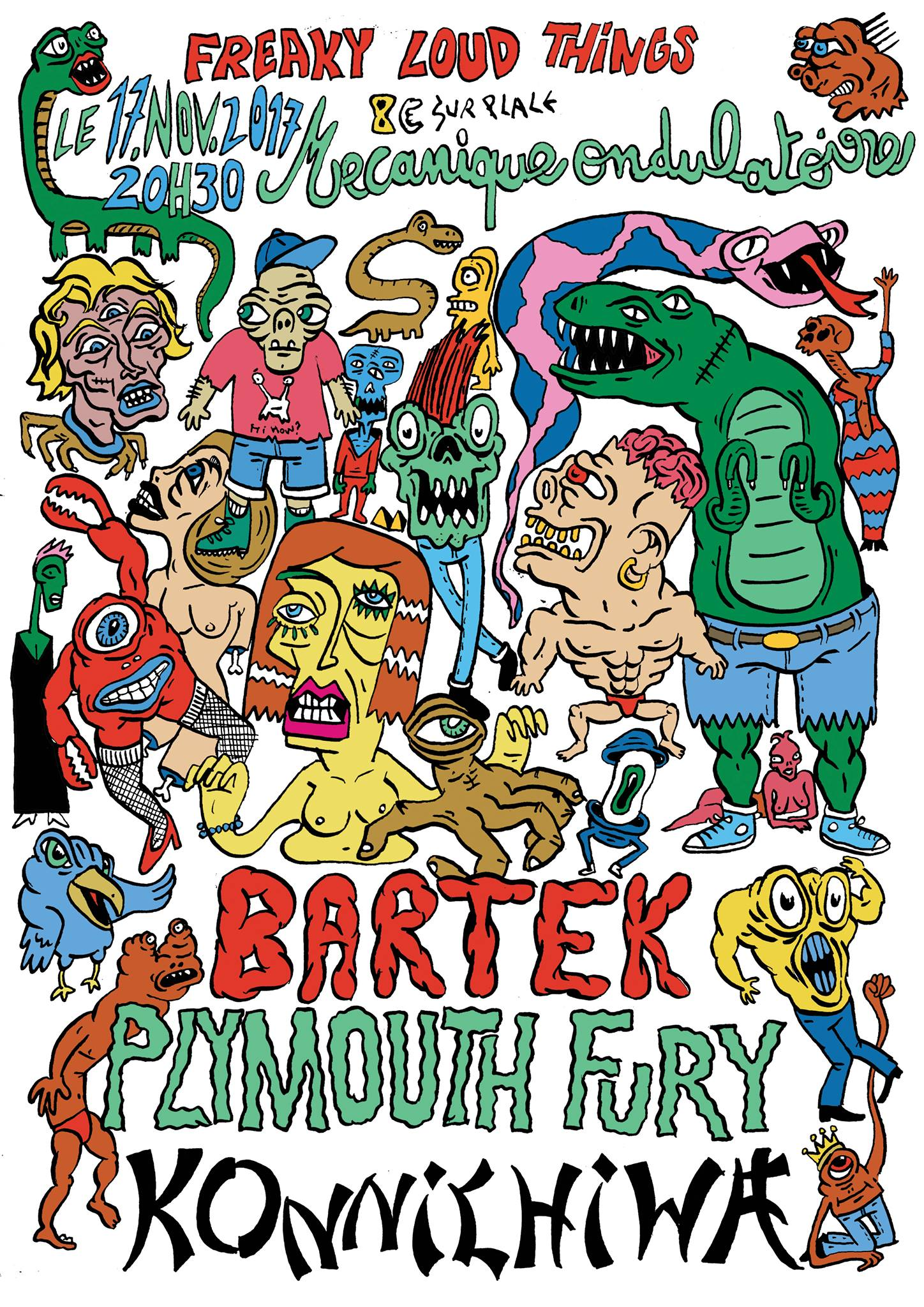 BARTEK + PLYMOUTH FURY + KONICHIWA // 17.11