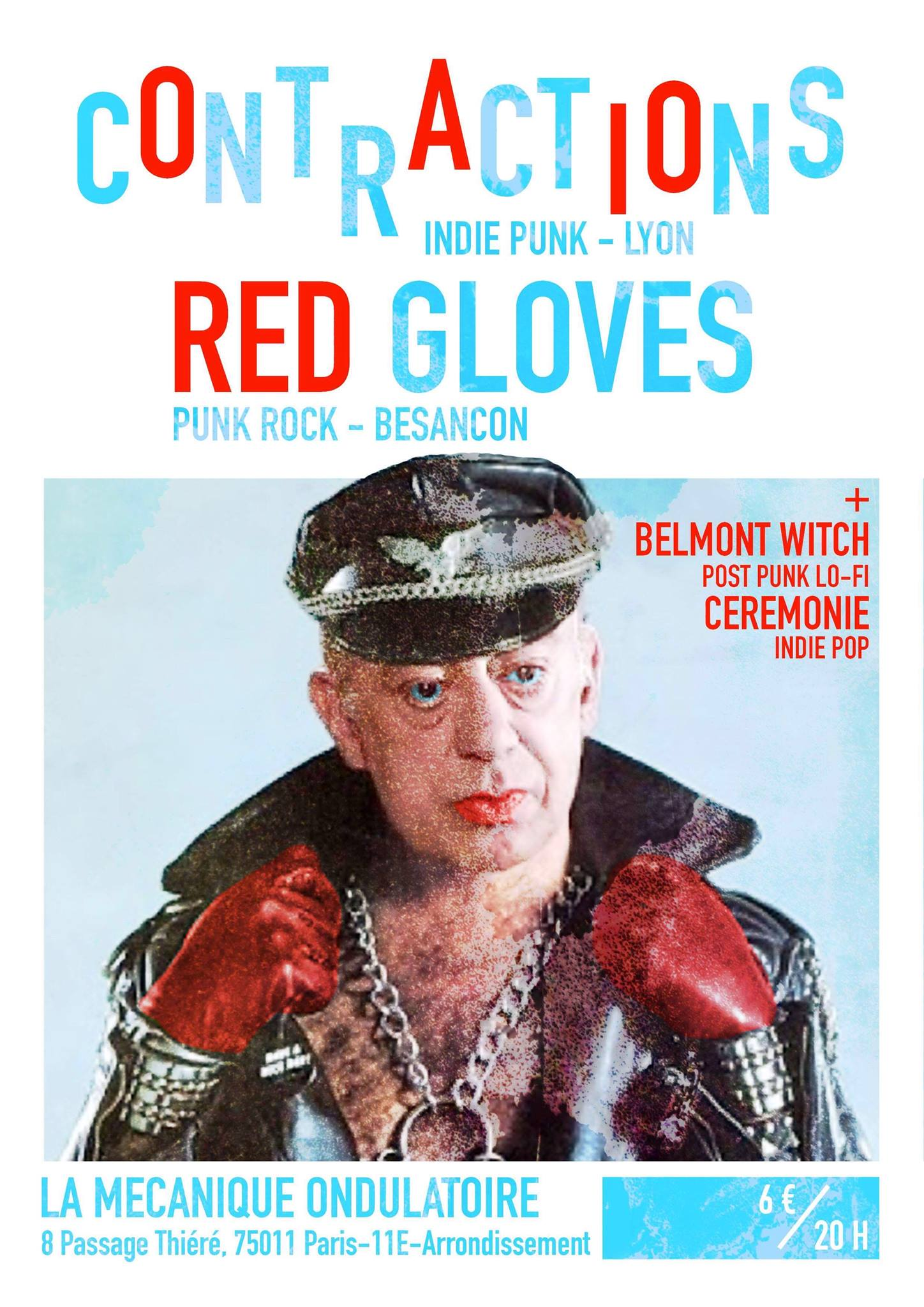 CONTRACTIONS + RED GLOVES // 16.12