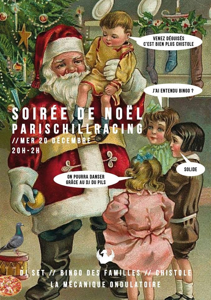 SOIRÉE DE NOEL DU PCR // 20.12