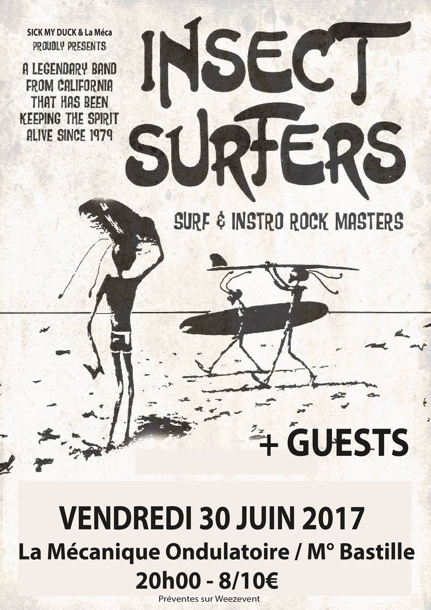 Insect Surfers + Cannibal Mosquitos + Guest // 30.06