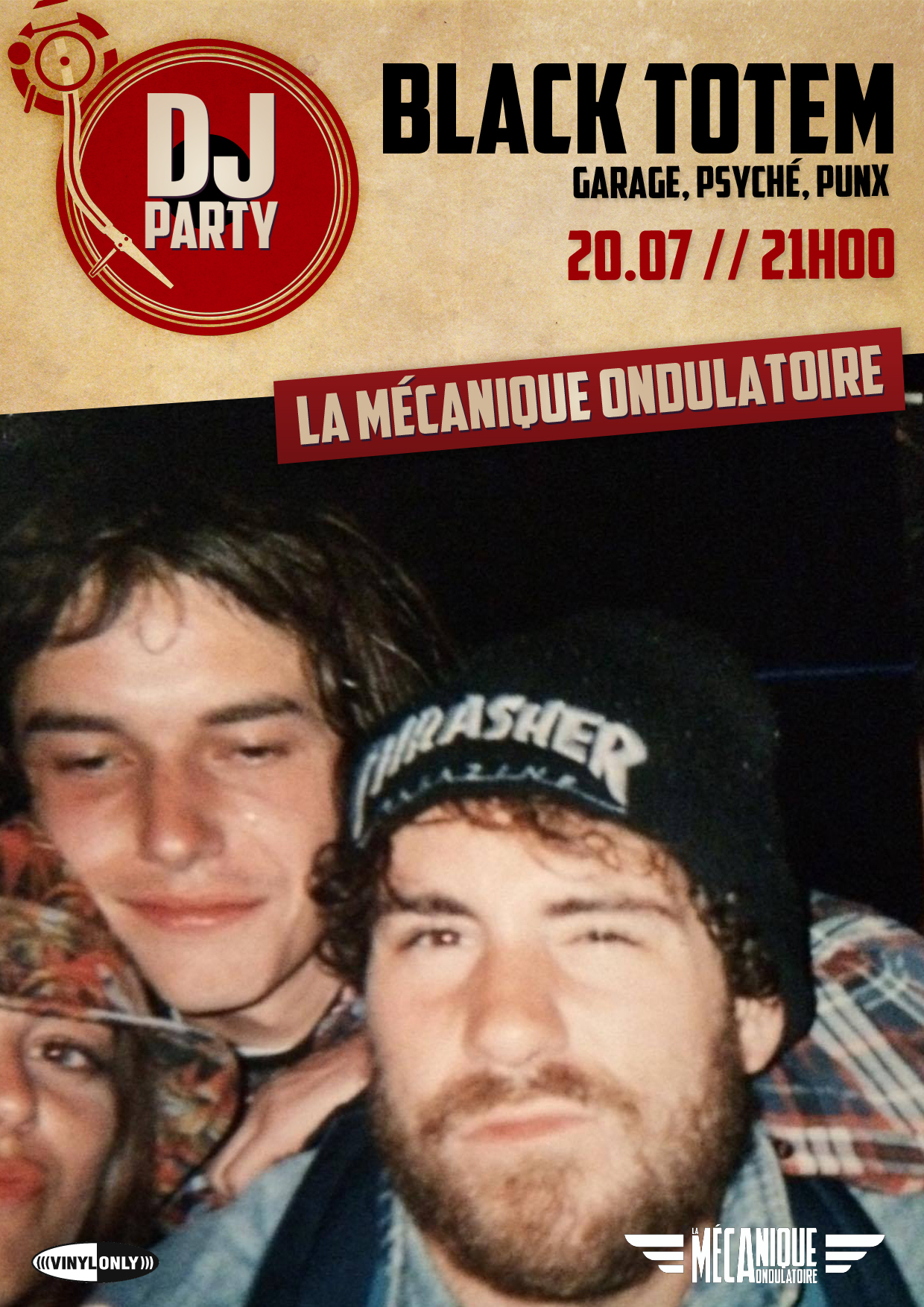 Black Totem DJ SET // 20.07 // La Méca