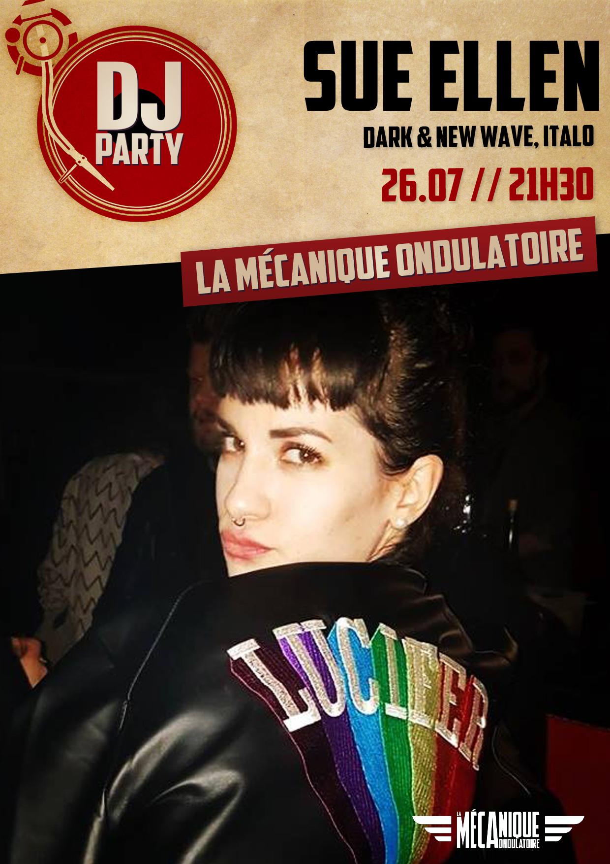 Sue Ellen DJ SET // 26.07 // La Méca