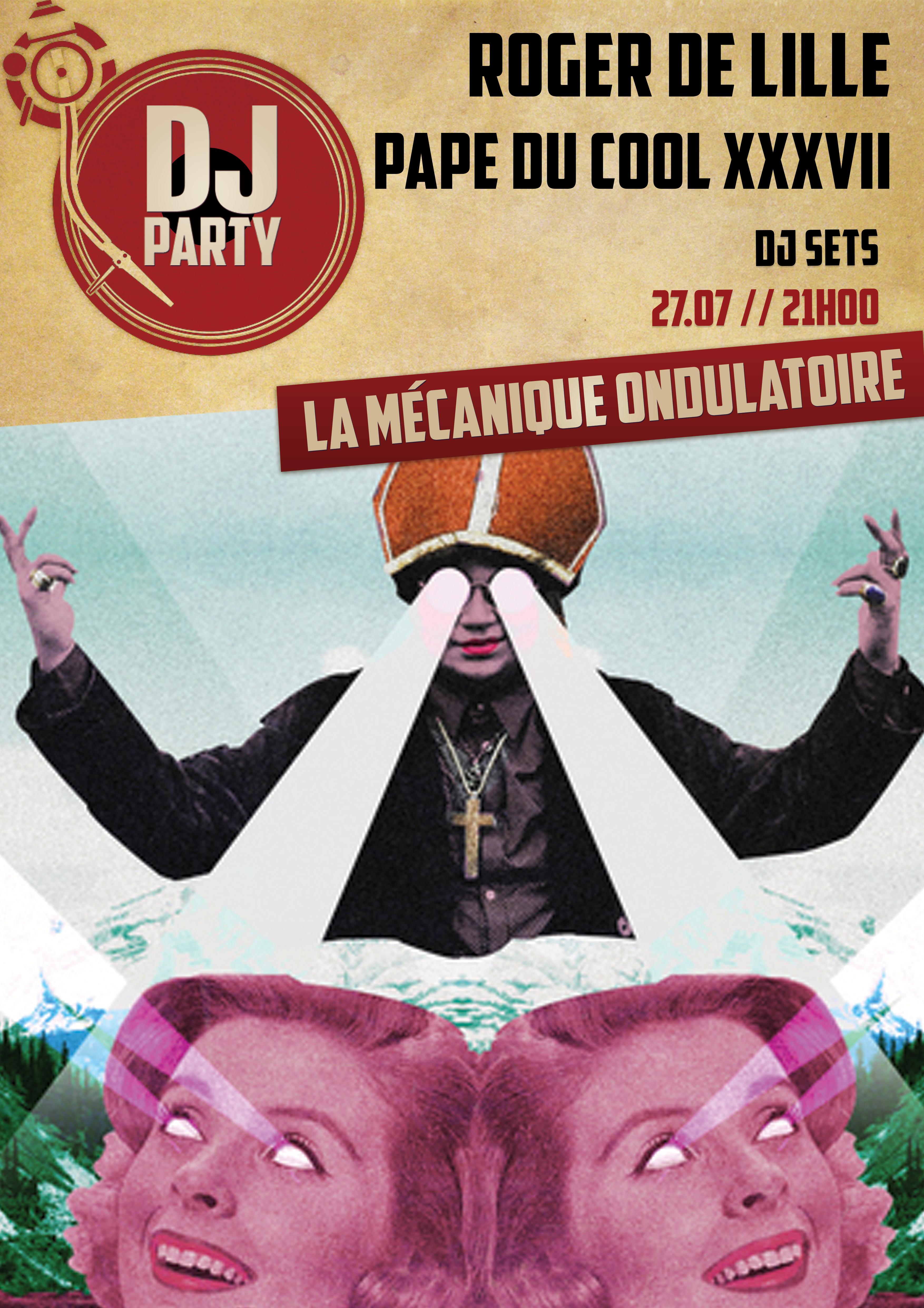 Roger De Lille DJ SET - La Méca - 27.07