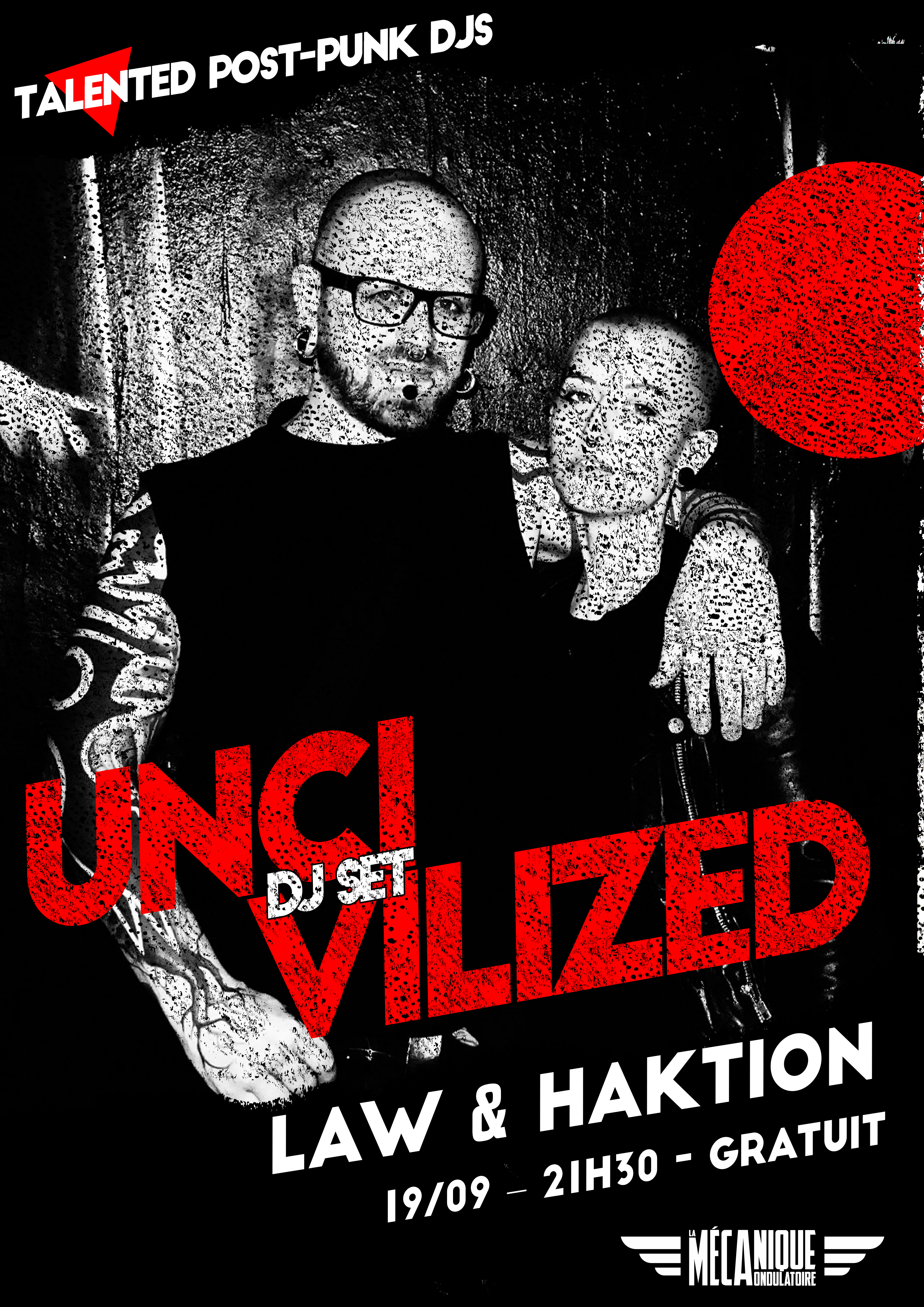Uncivilized #14 - Law & Action // La Meca // 19.09
