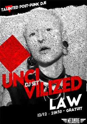 UNCIVILIZED #26 - LAW & BUNKER BAL // 12.12