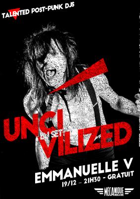 UNCIVILIZED - EMMANUELLE V // 19.12