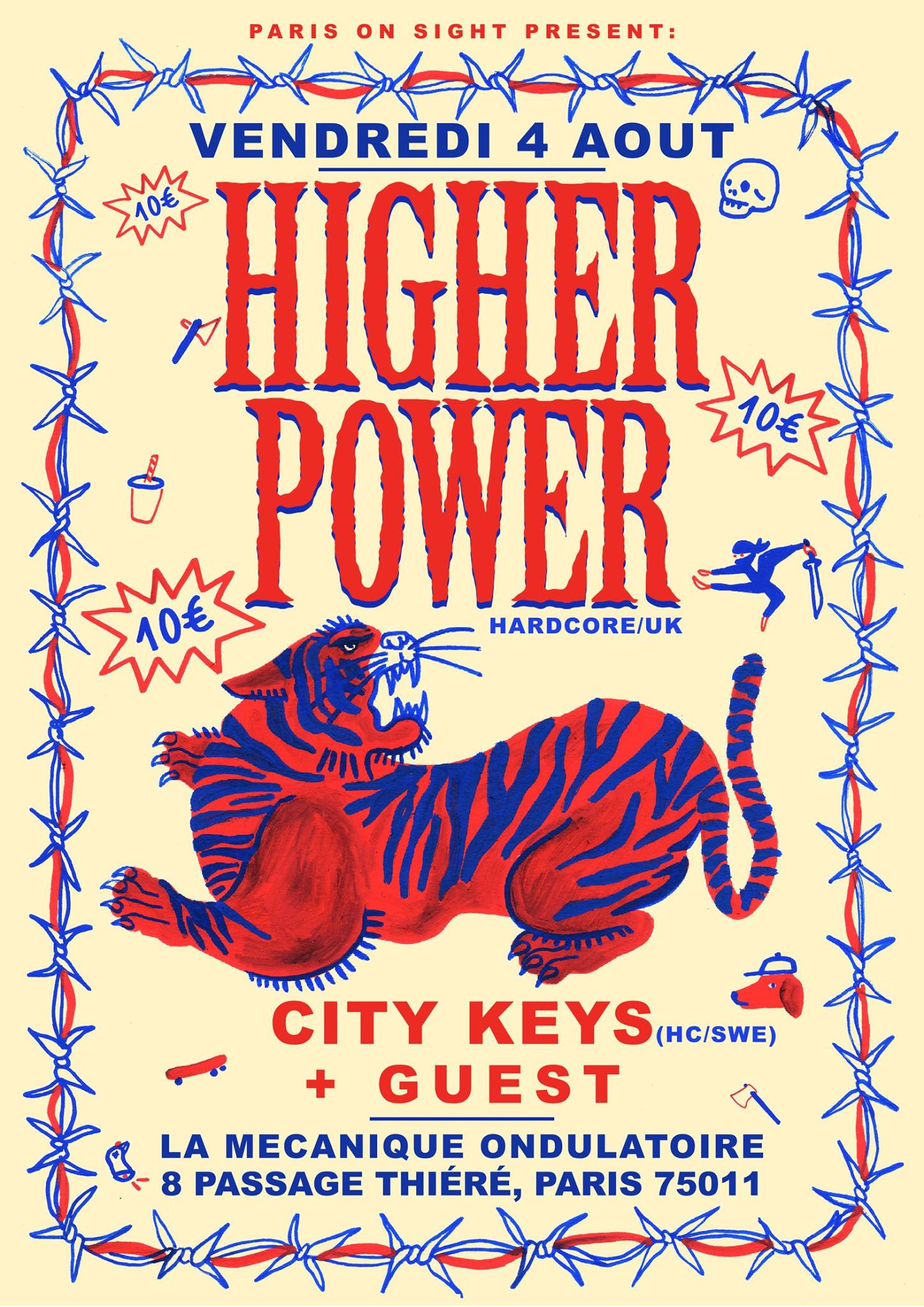 Higher Power + City Keys // 04.08