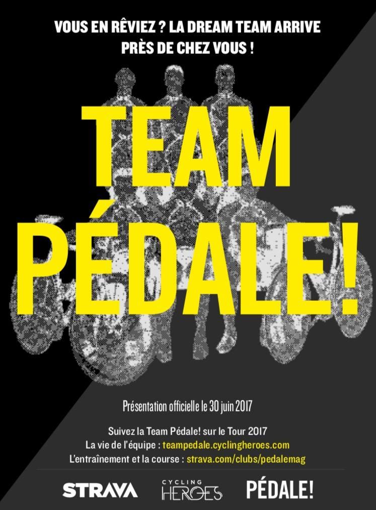 Lancement de la Team Pedale // 29.06