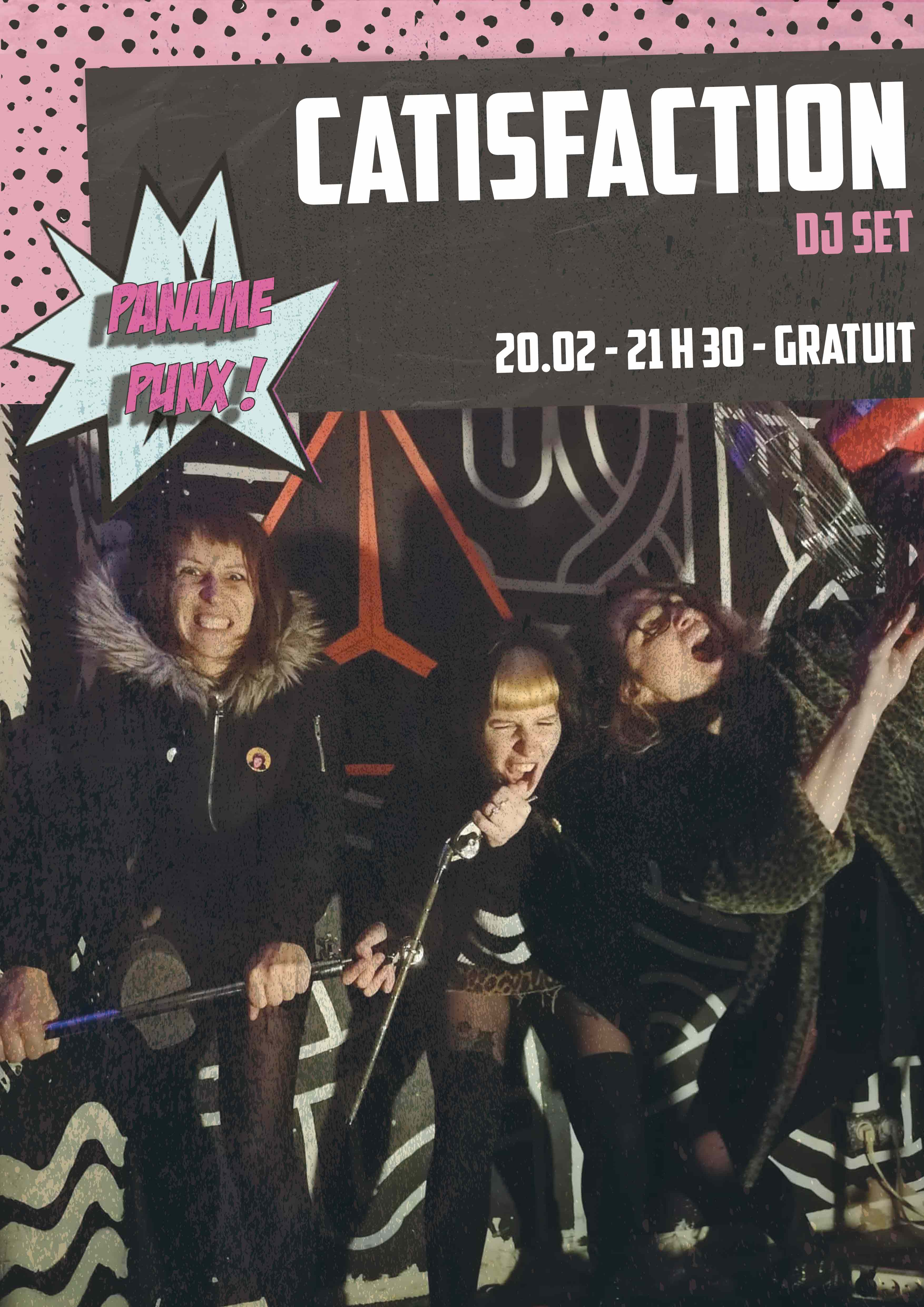 PANAME PUNX : CATISFACTION // 20.02