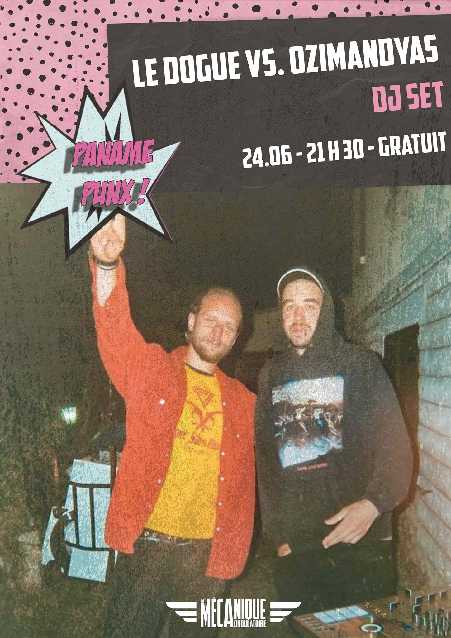 PP : LE DOGUE VS OZIMANDYAS // 23.06