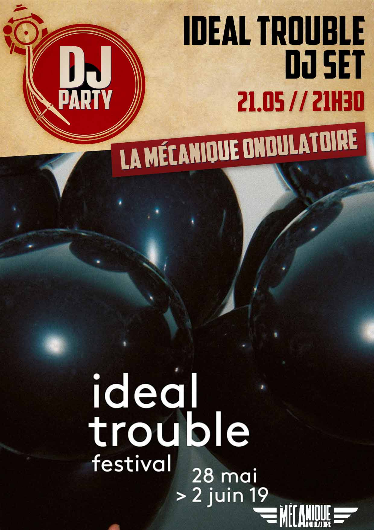Ideal Trouble DJ SET // 21.05