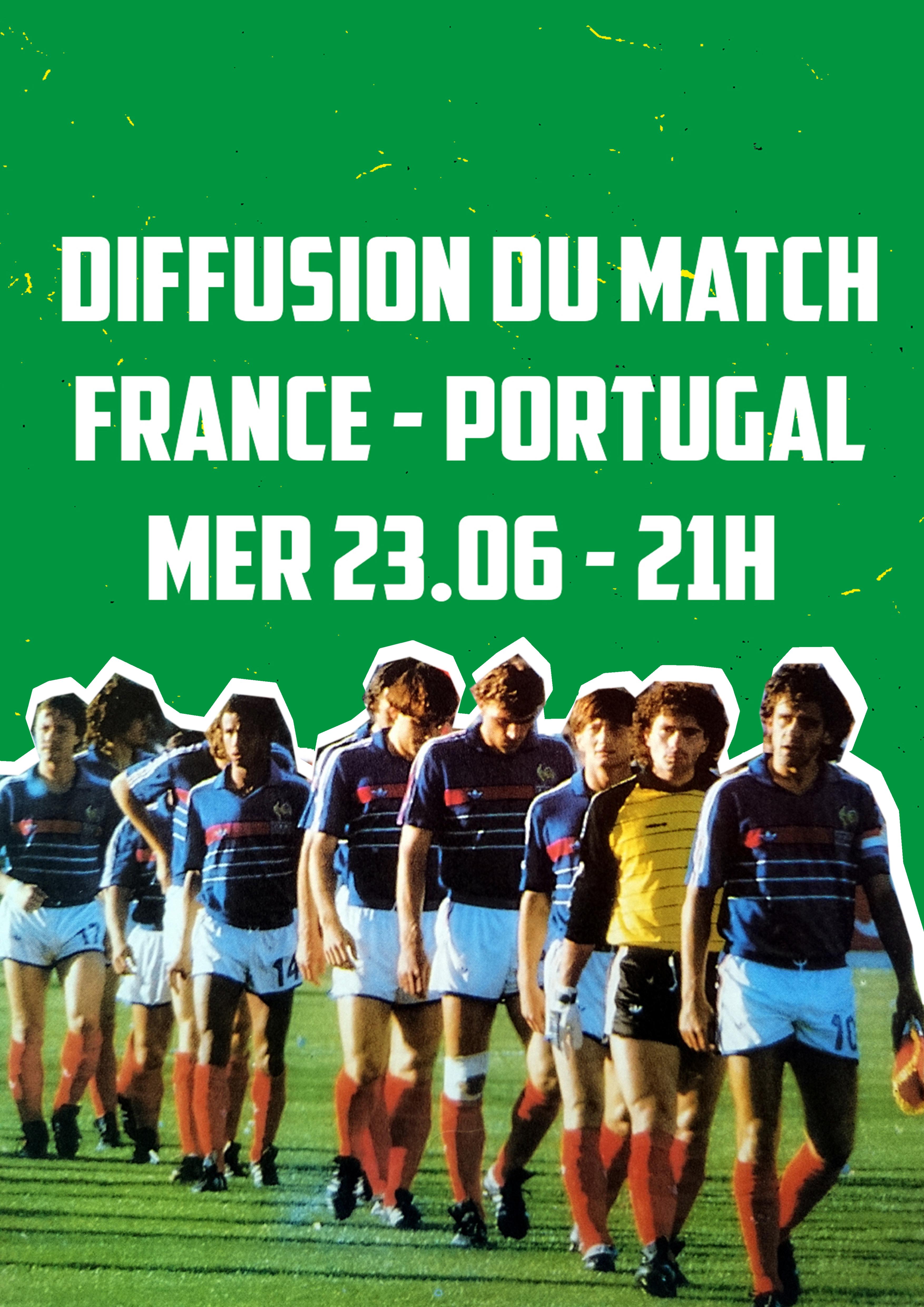 FRANCE - PORTUGAL // 23.06