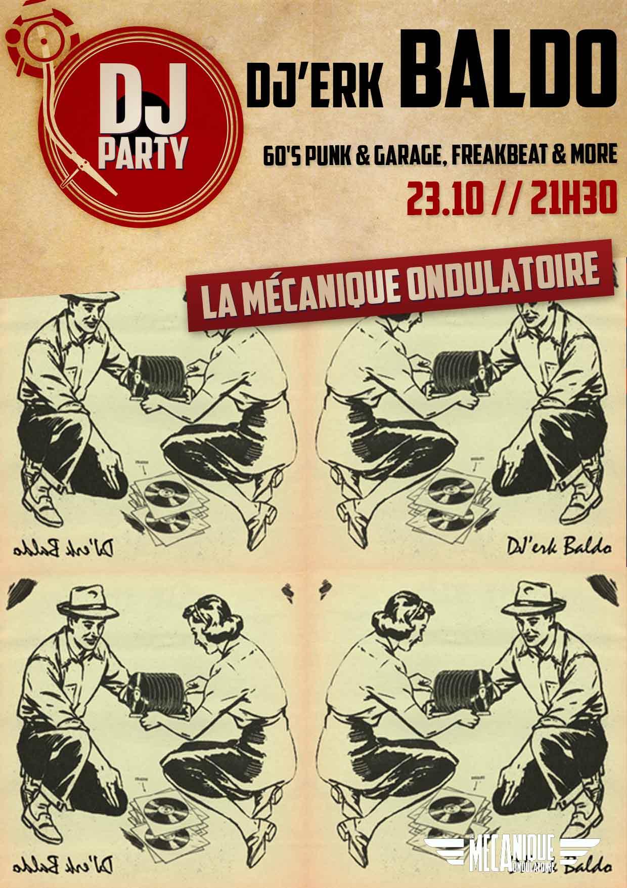 BALDO DJ SET // 23.10