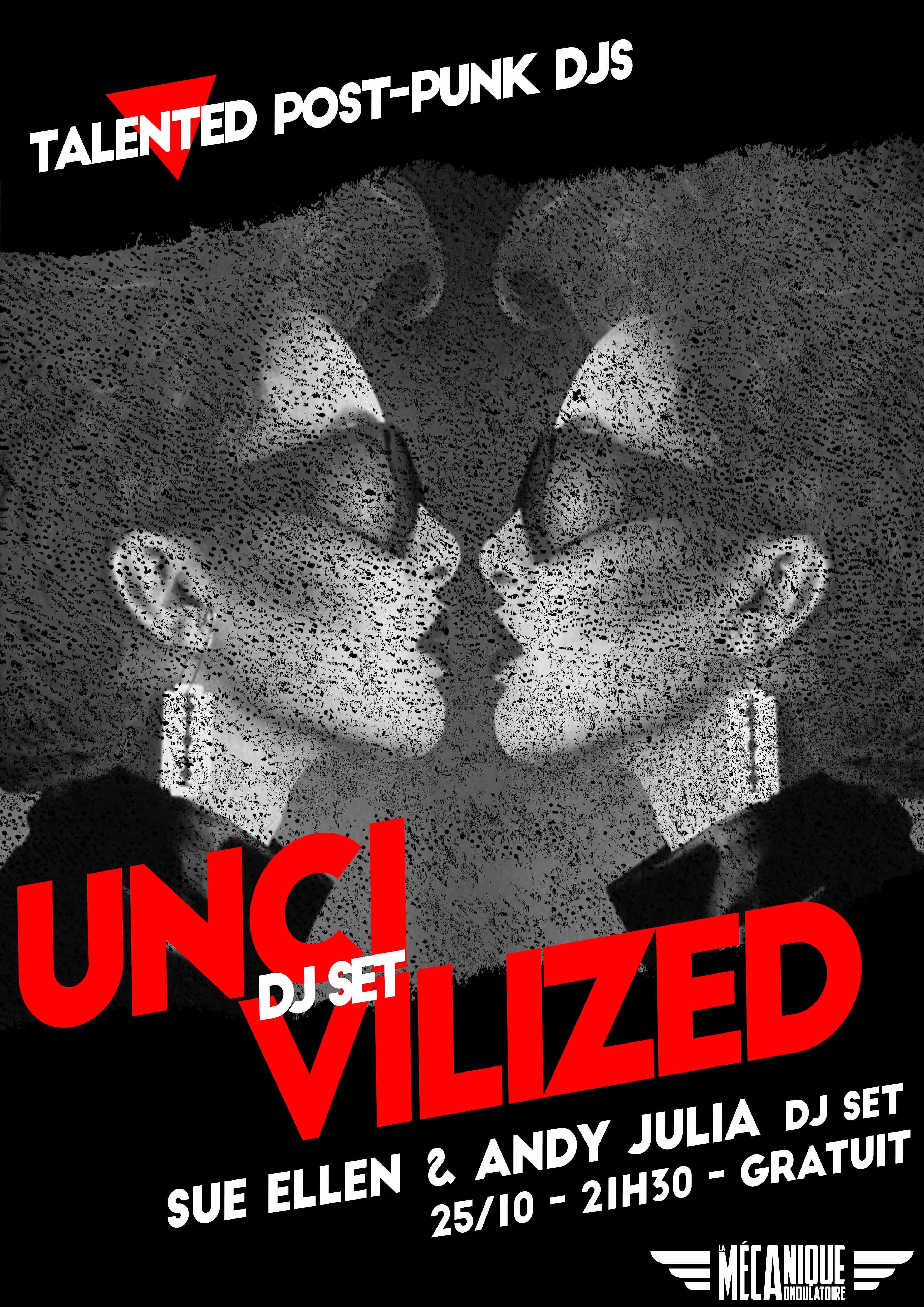 Uncivilized #48 - Sue Ellen & Andy Julia - 25.10