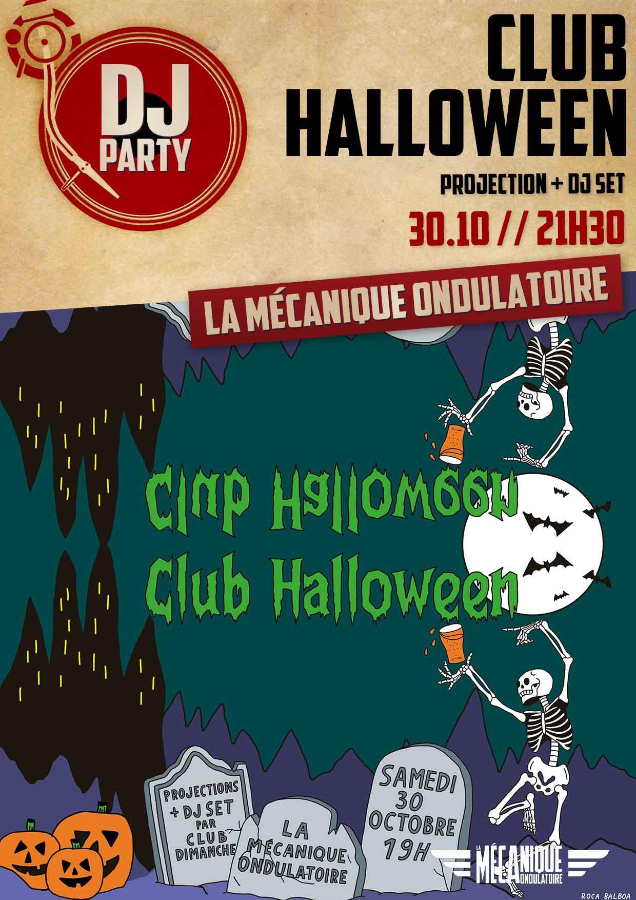 CLUB HALLOWEEN // 30.10