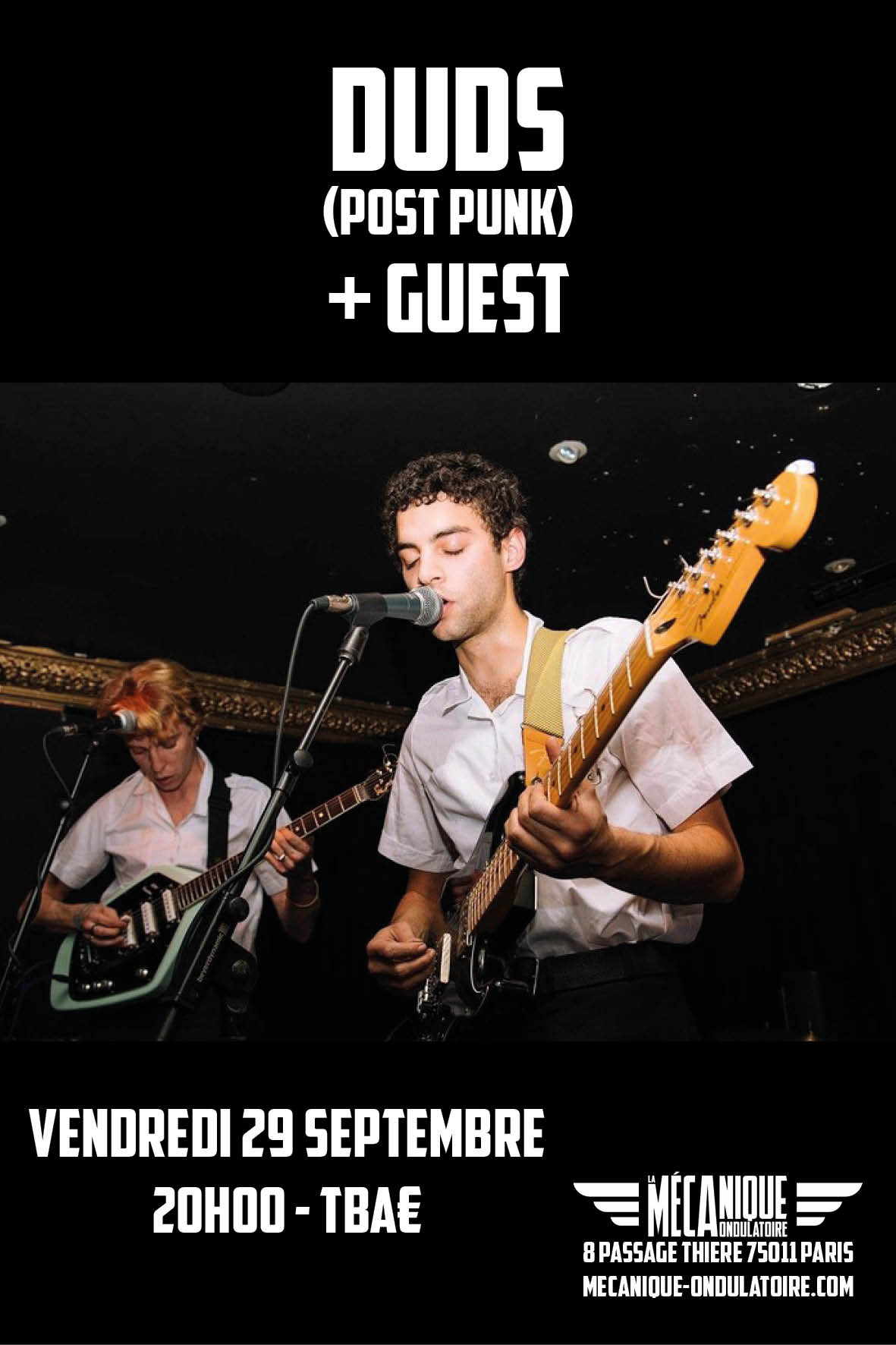 DUDS + GUEST // 29.09