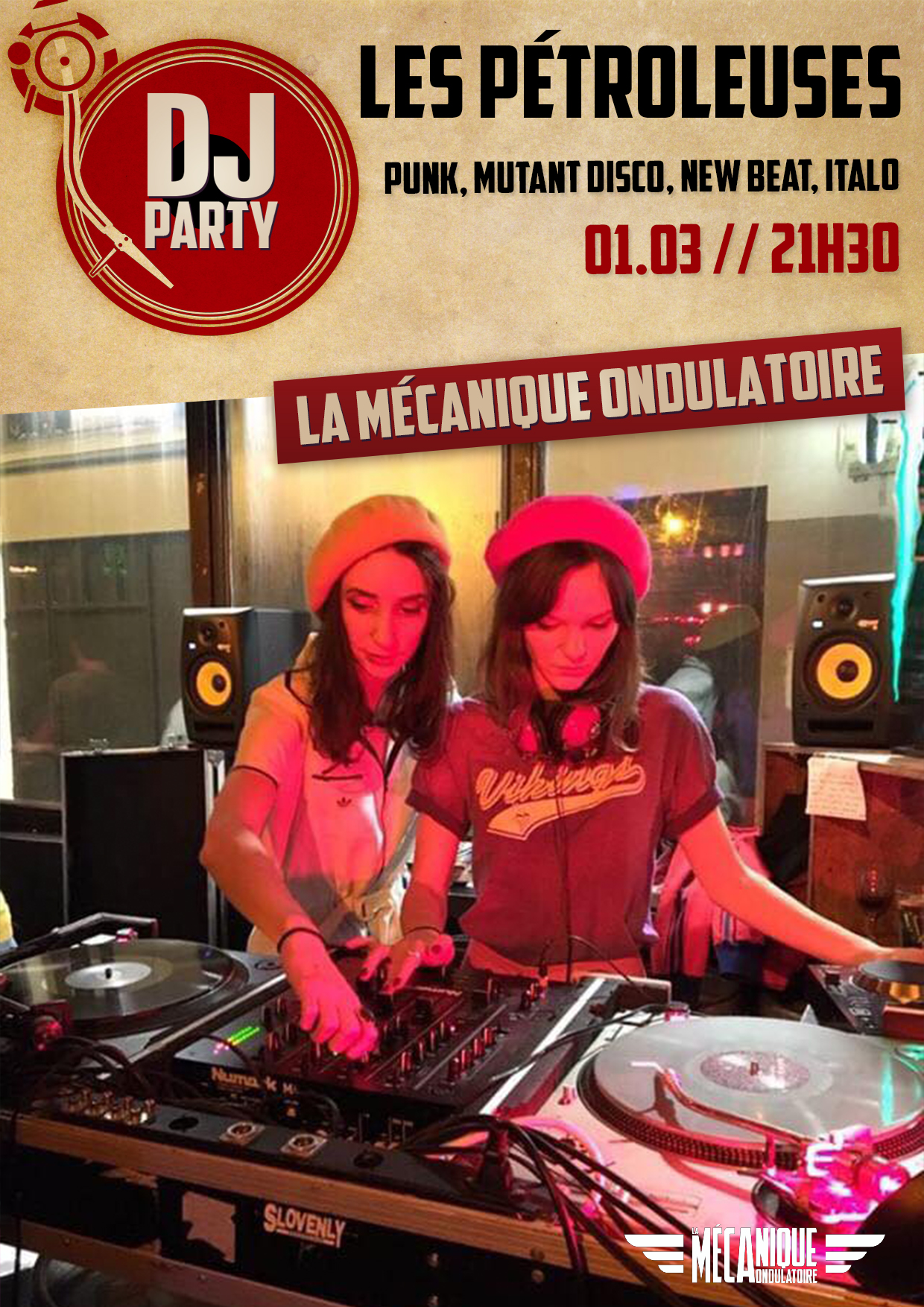 LES PETROLEUSES DJ SET // 01.03