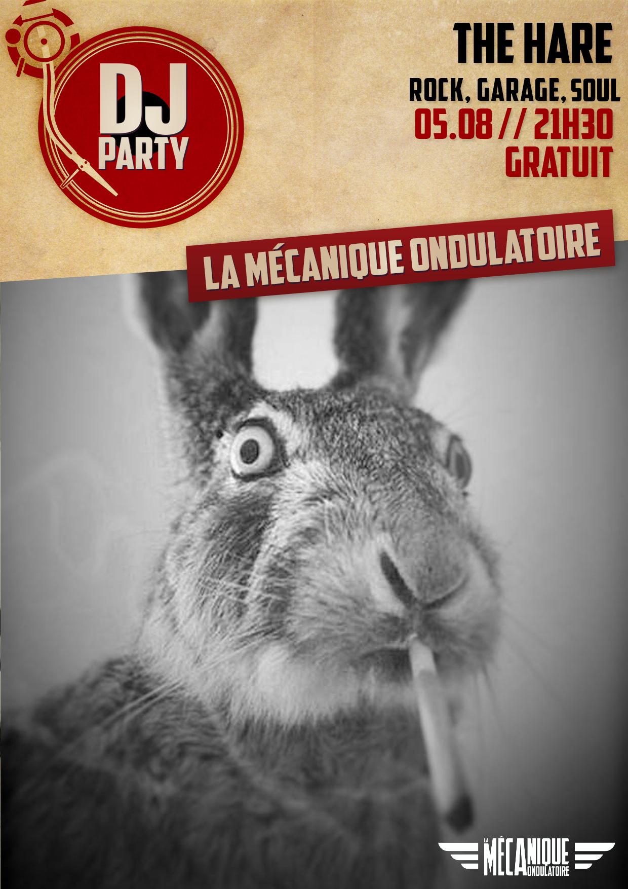 The Hare dj set // 05.08