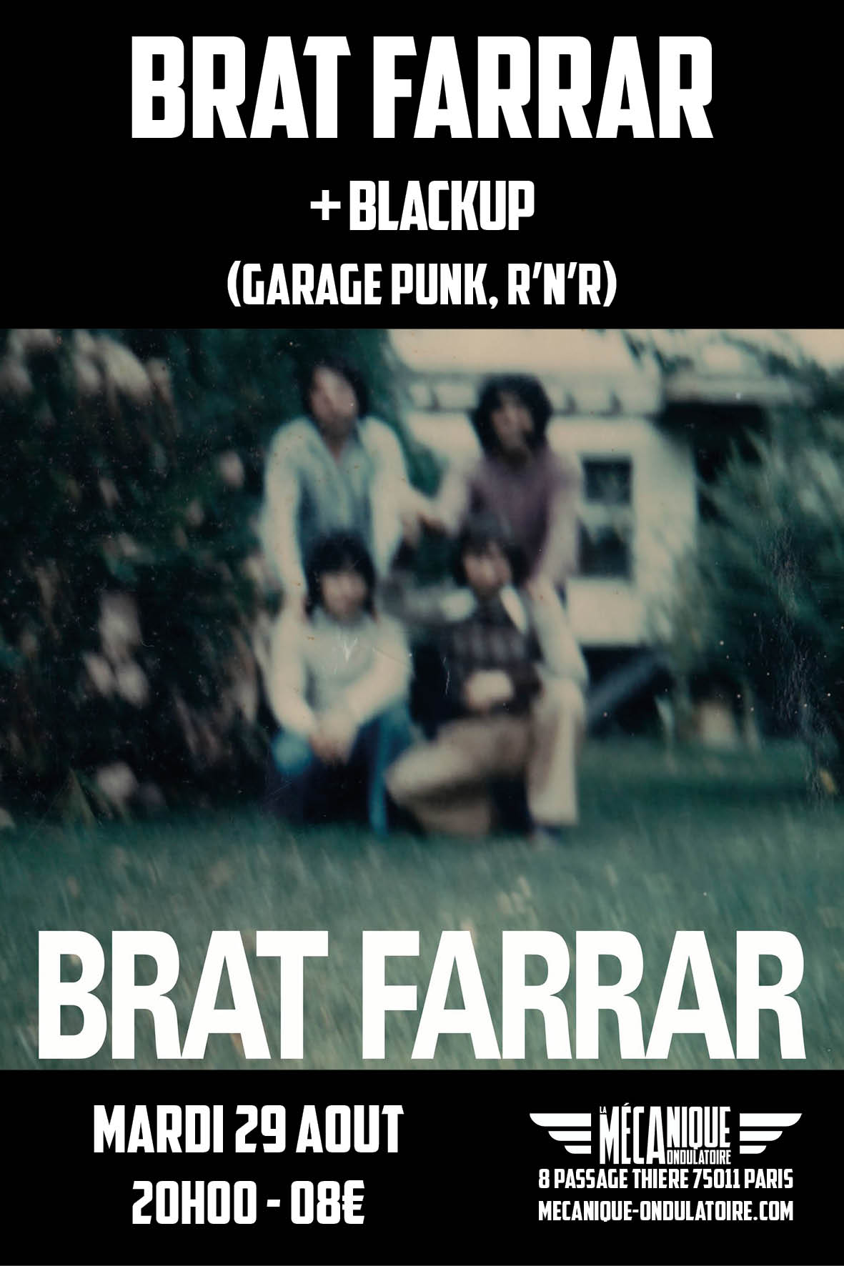 BRAT FARRAR + Blackup // 29.08