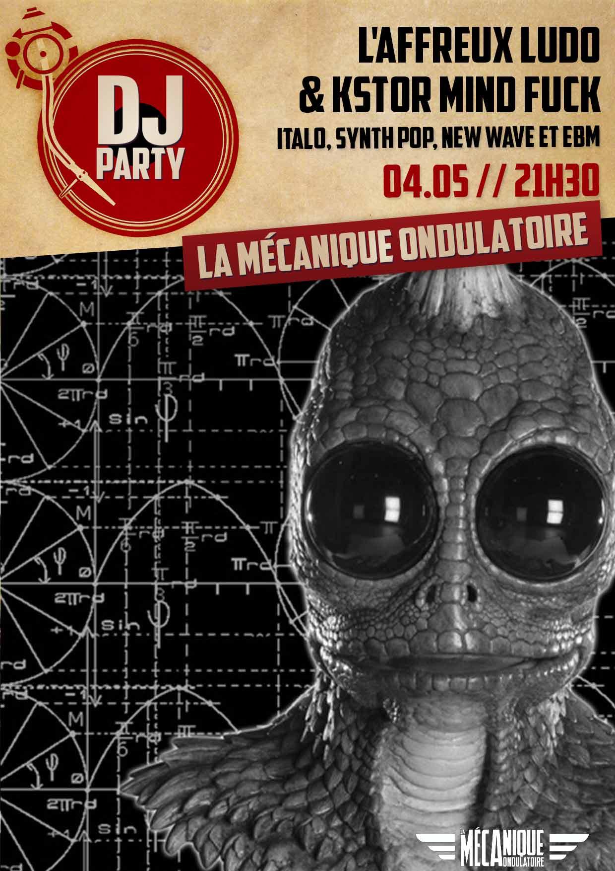 L'affreux Ludo & KSTOR MIND FUCK DJ Set // 04.05